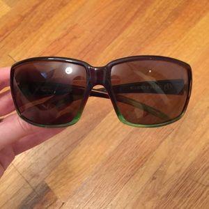 Electric two tone polarized sunglasses
